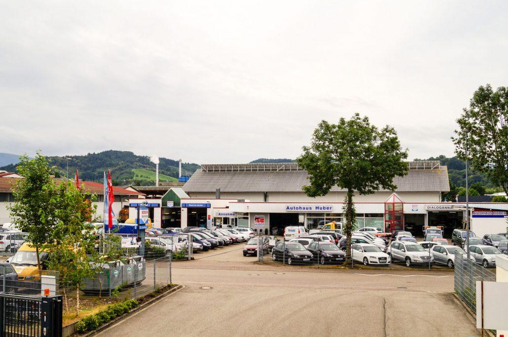 Das Autohaus Huber – Viele Fahrzeuge stehen zur Auswahl!