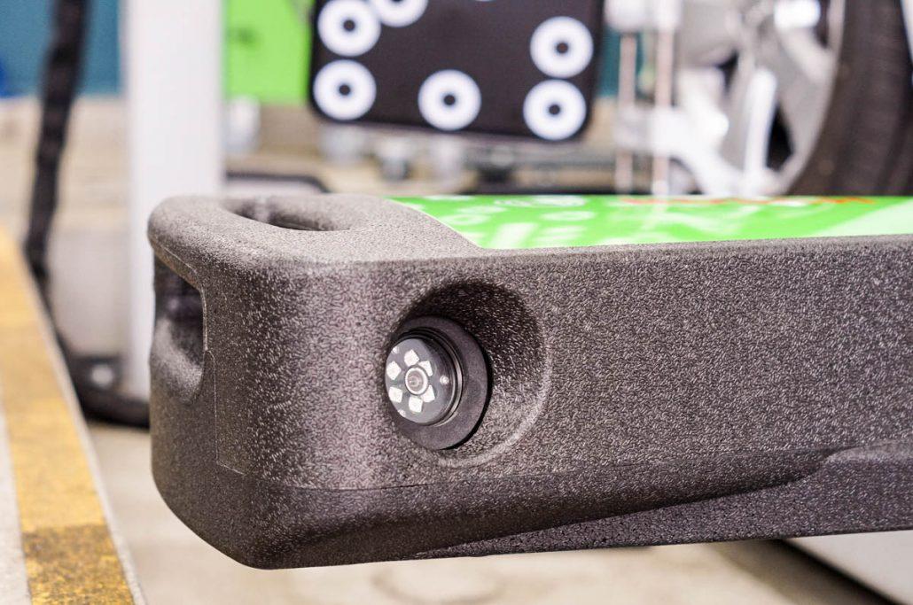 3D Spureinstellgerät Detailansicht
