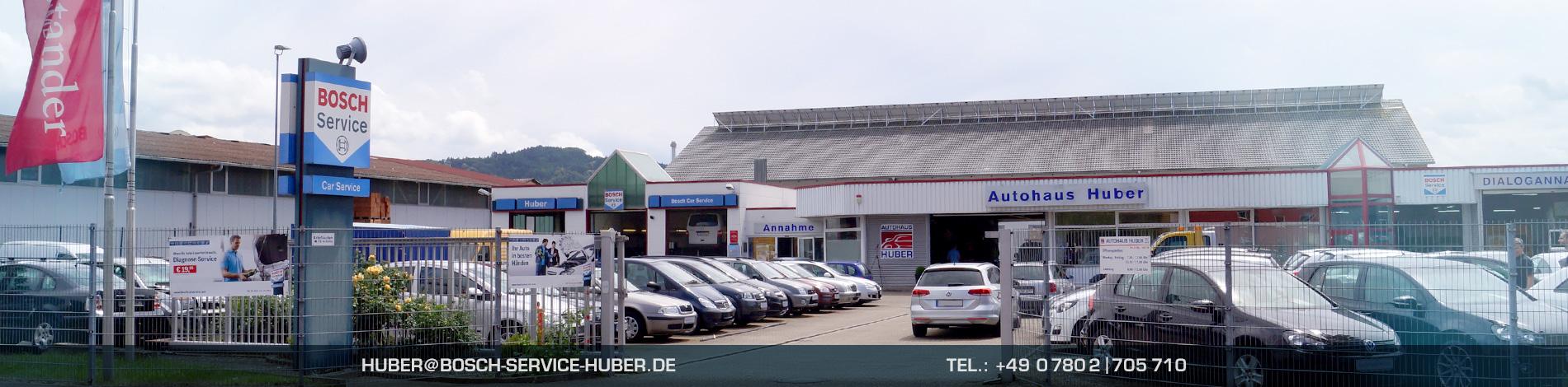 Willkommen beim Autohaus Huber/Bosch Car Service Oberkirch