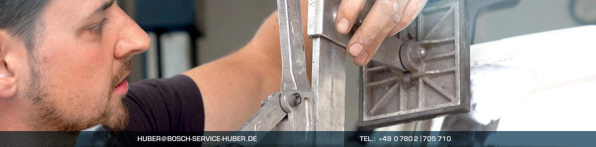 Karosseriearbeiten und Smart Repair im Autohaus Huber/Bosch Car Service Oberkirch